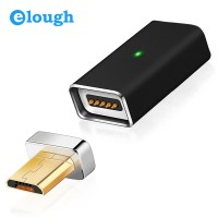 Магнитный адаптер Magnetic adapter Elough A01 USB 2.0  - microUSB