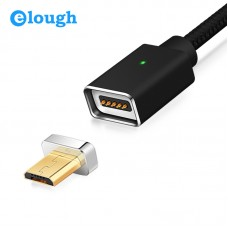 Магнитный кабель Magnetic cable Elough E05 USB 2.0  - microUSB 1 м